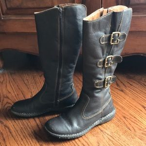 Boc leather brown boots size7